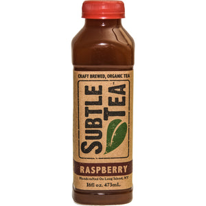Iced Tea SUBTLE TEA RASPBERRY CASE 12/16oz  Bottles