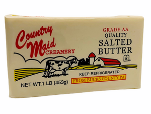 Butter-SALTED 1lb- Per Block