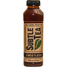 Load image into Gallery viewer, Iced Tea SUBTLE TEA SWEETLESS CASE 12/16oz  Bottles