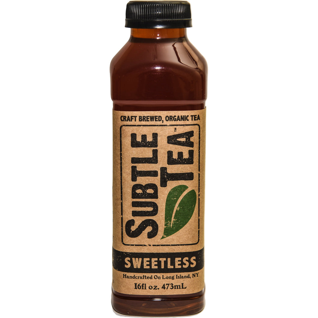 Iced Tea SUBTLE TEA SWEETLESS CASE 12/16oz  Bottles