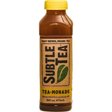 Load image into Gallery viewer, Iced Tea SUBTLE TEA-TEA-Monade CASE 12/16oz  Bottles