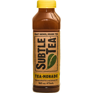 Iced Tea SUBTLE TEA-TEA-Monade CASE 12/16oz  Bottles