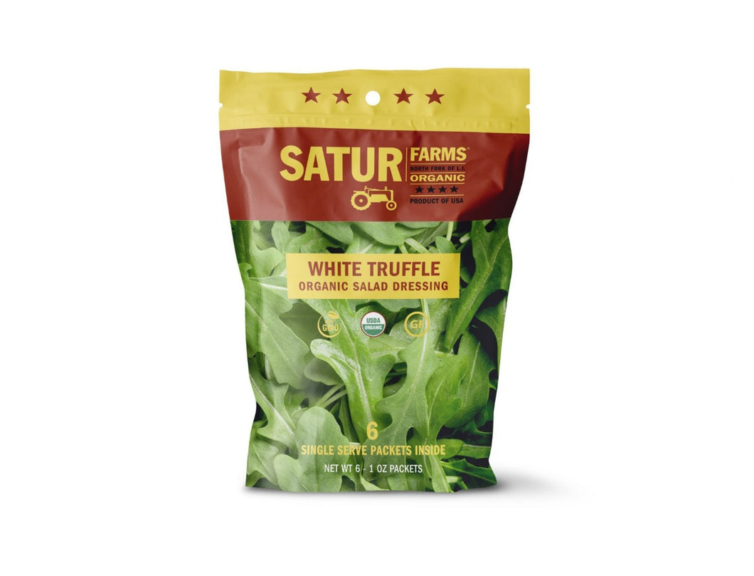 Dressing WHITE TRUFFLE Satur Farms ORGANIC 6/1oz Pack