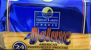 Cheese SMALL PACK Deluxe Yellow American 16oz Per pack