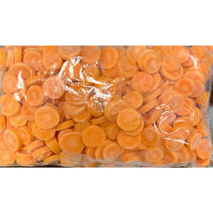Frozen Carrots Coin Cut-2lb Per Bag