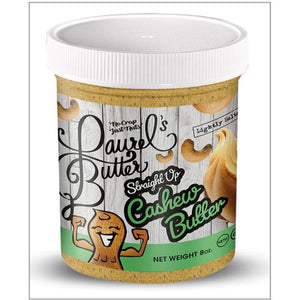 Laurel's Butter-Cashew Butter- (8oz) Per Jar