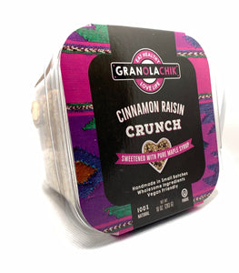 GranolaChik CINNAMON RAISIN 10oz Container