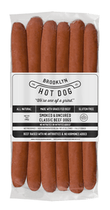 Hot Dogs- Classic All Beef-Per Pack