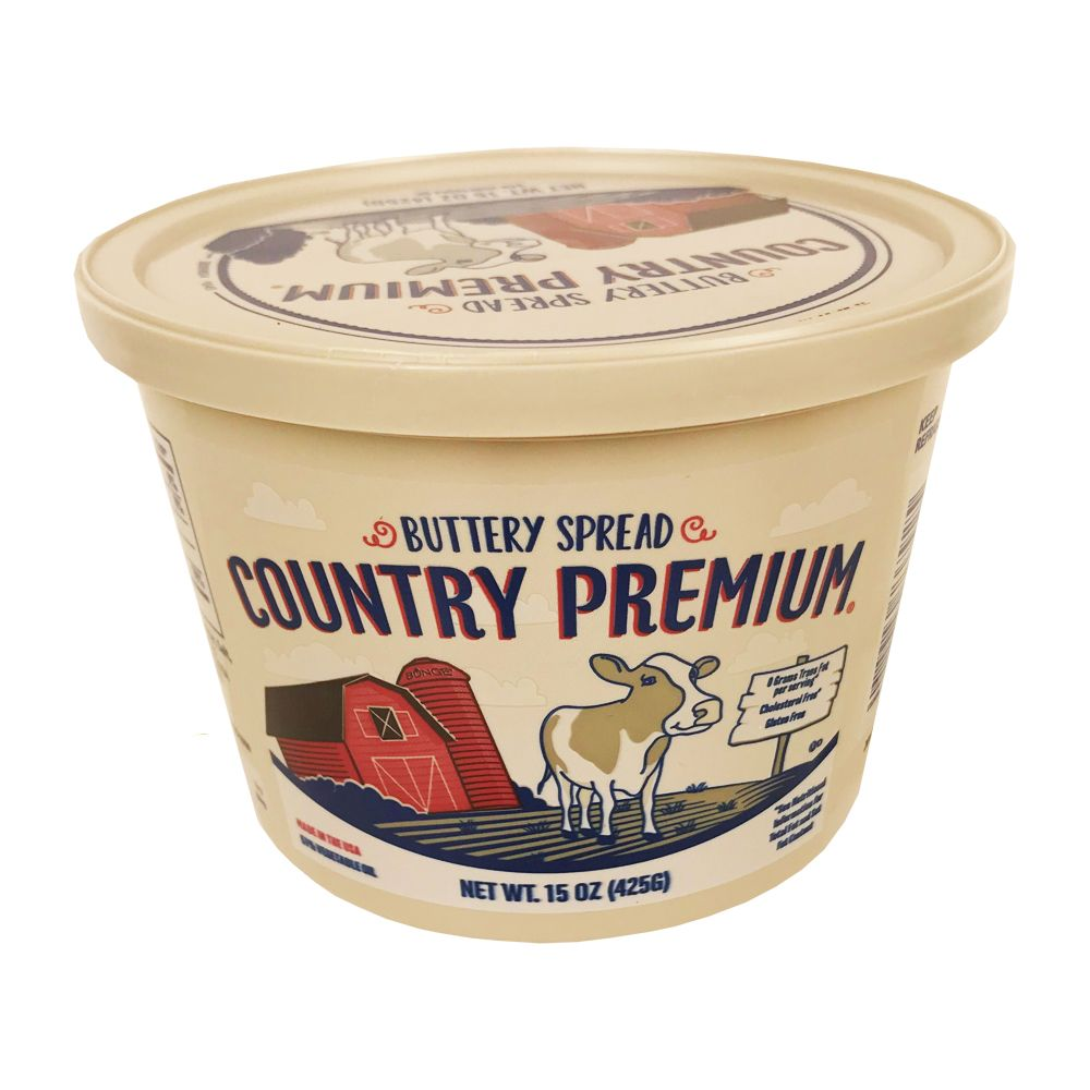 Buttery Spread Country Premium 15oz Tub