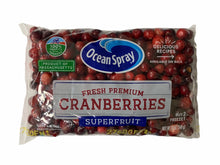 Load image into Gallery viewer, Cranberries Fresh Ocean Spray 12oz Bag