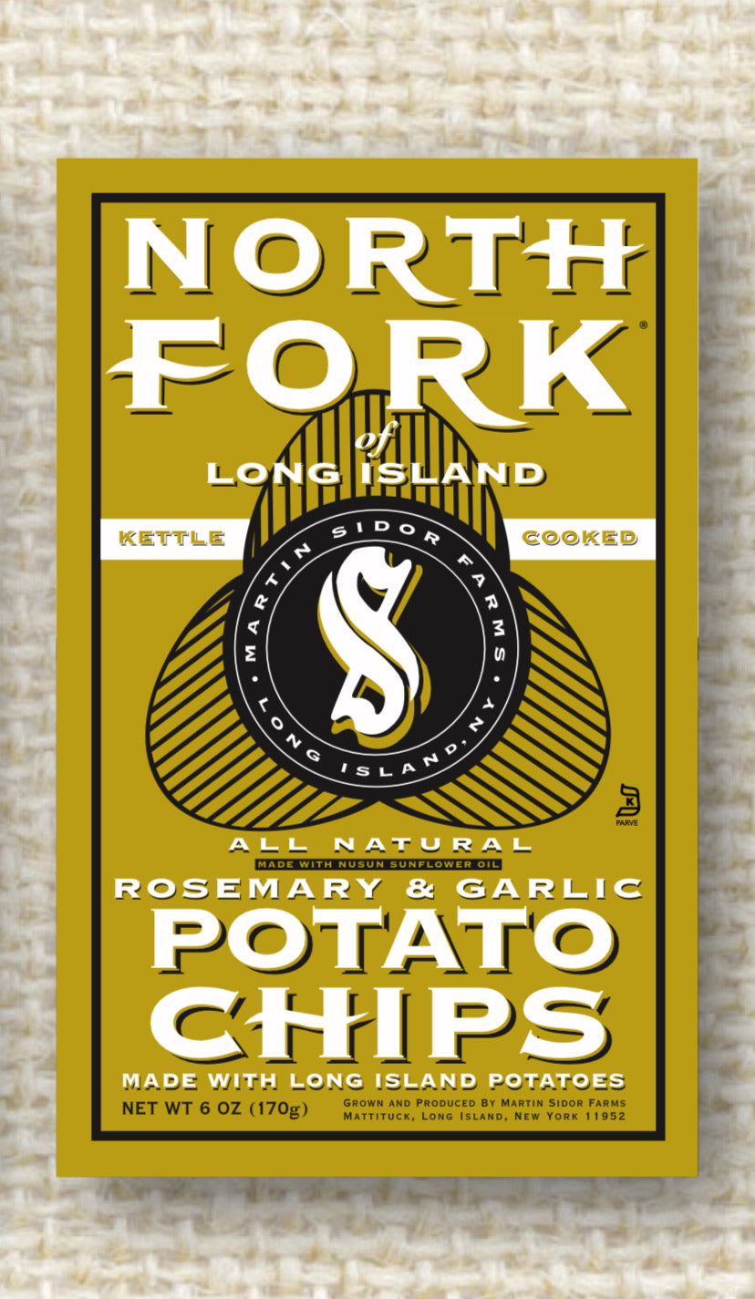 Potato Chips Northfork ROSEMARY & GARLIC 6oz Bag