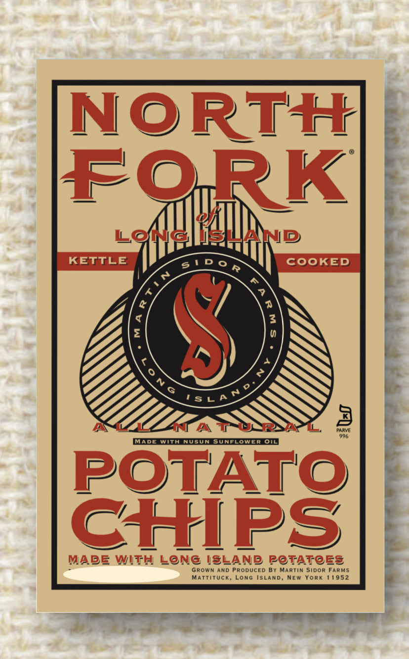 Potato Chips Northfork ORIGINAL 6oz Bag