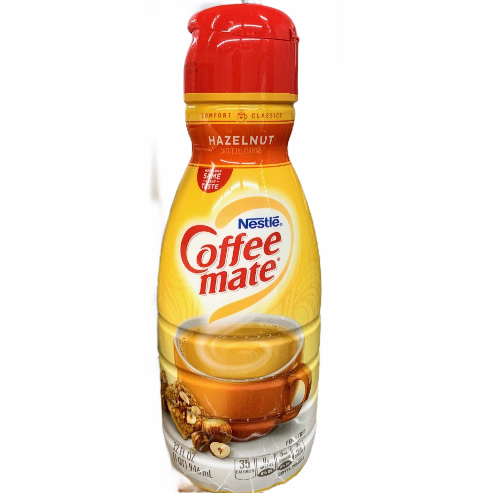 Coffee Creamer-Coffee Mate-Hazelnut 32oz.