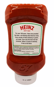 Ketchup Heinz-20oz Squeeze Bottle