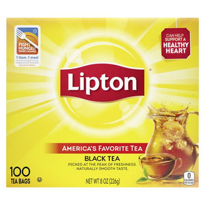 Tea LIPTON 100 Bags Per Box
