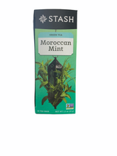 Load image into Gallery viewer, Tea STASH Moroccan Mint Per Box