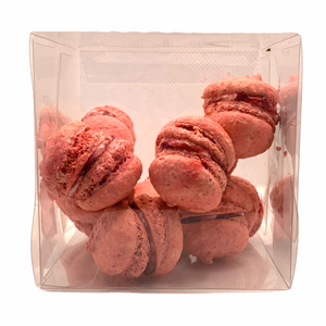 French Macarons RASPBERRY Mini Box