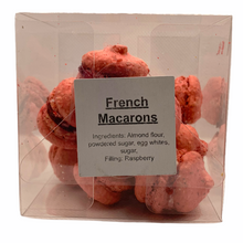 Load image into Gallery viewer, French Macarons RASPBERRY Mini Box