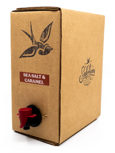 Coffee Cold Brew Sail Away SEA SALT & CARAMEL Box Tap