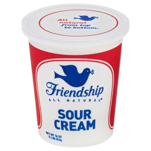 Sour Cream 16oz Per Container