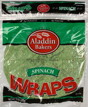 Load image into Gallery viewer, Wraps SPINACH 5 Count Per Pack