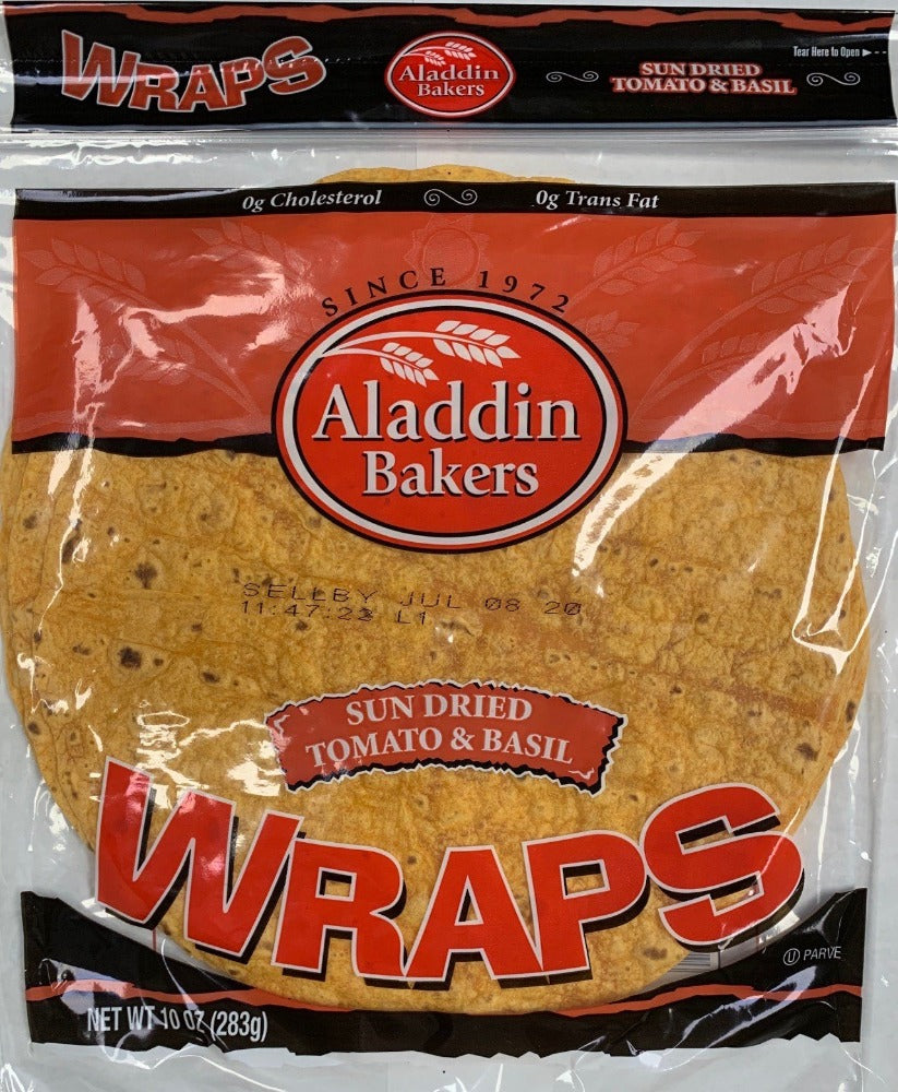 Wraps SUN DRIED TOMATO & BASIL 5 Count Per Pack