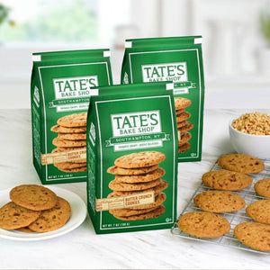 Cookies Tate's Bake Shop BUTTER CRUNCH 7oz Bag