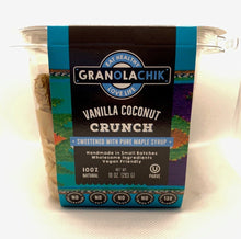 Load image into Gallery viewer, GranolaChik VANILLA COCONUT 10oz Container