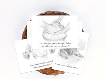 Faith, Hope, and Charity Greeting Card Set