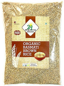 24 Mantra brown basmati rice- 10lb