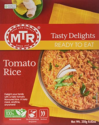 MTR Ready to Eat Tomato Rice - 250gm
