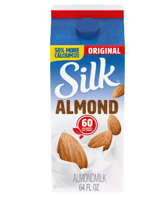 Silk Organic Original Almond Milk (64 fl Oz)