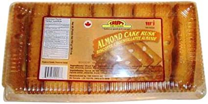 Crispy Almond Cake Rusk - Family Pack