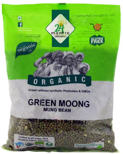 24 Mantra Moong Green Whole - 2lb