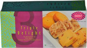 Karachi Bakery Triple Delight (Fruit , Cashew & Osmania)Biscuits