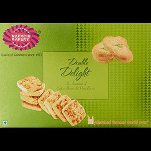 Karachi Bakery Double Delight (Fruit , Badam & Pista)Biscuits