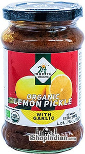 24 Mantra Organic Lemon Pickle -300g