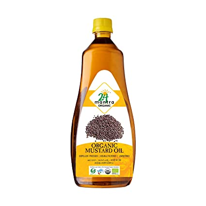 24 Mantra Organic Mustard Cooking oil 33 oz