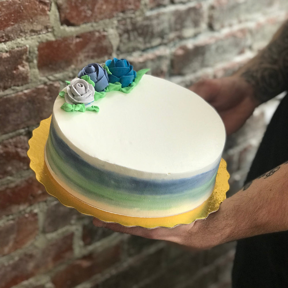 Load image into Gallery viewer, All Vanilla Cake - Round