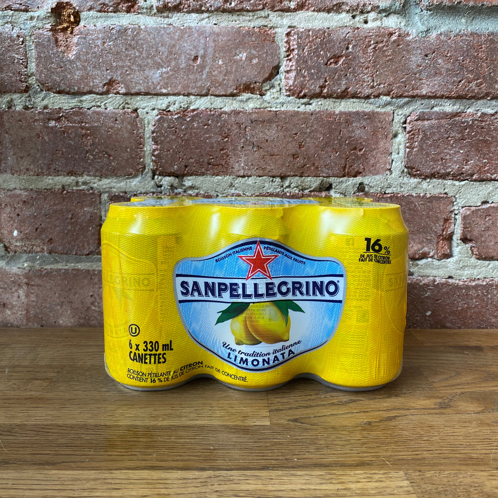 Load image into Gallery viewer, Sanpellegrino Limonata - 330ml - 6 Pack
