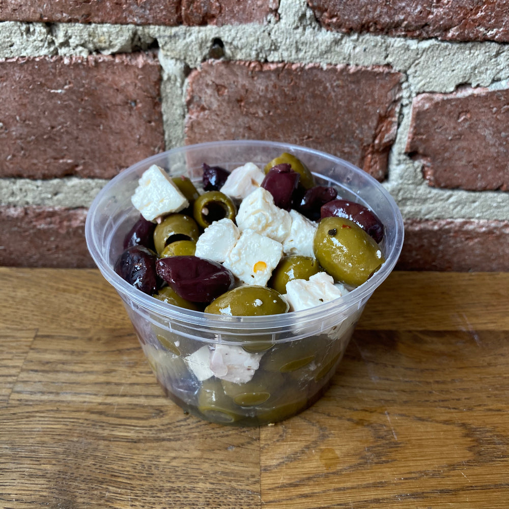 Olives Mixed with Feta Cheese - Bulk