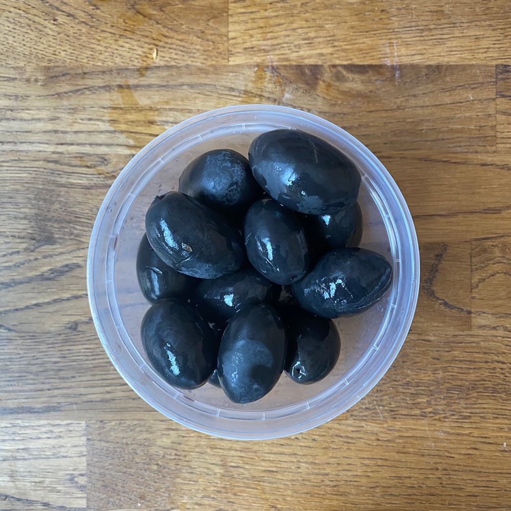 Large Black Olives - Bulk