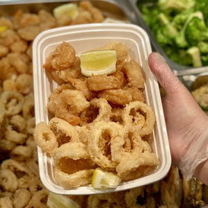 Shrimp and Calamari Sold Together - Minimum 2 Portions