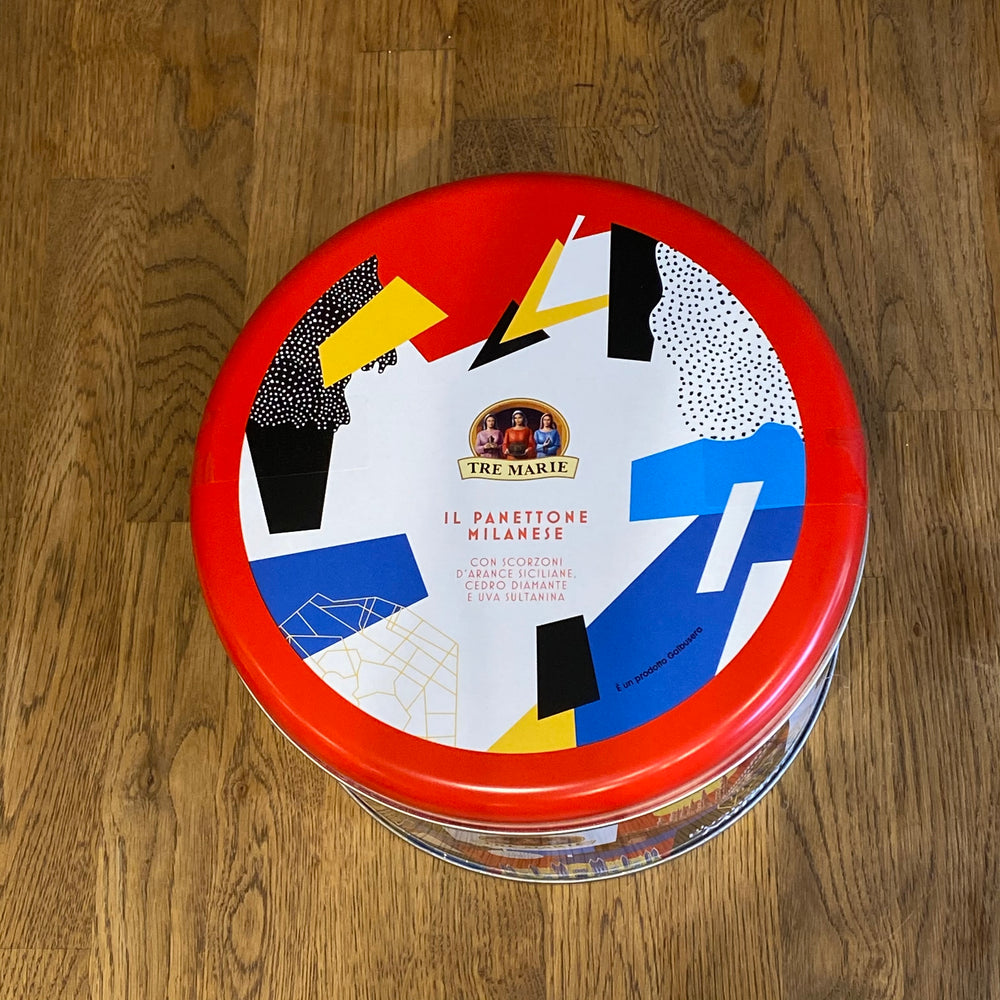 Panettone Milanese - Pop Art Design Tin - 750g