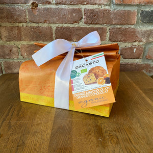 Load image into Gallery viewer, Chocolate and Orange Vegan Panettone - 750g