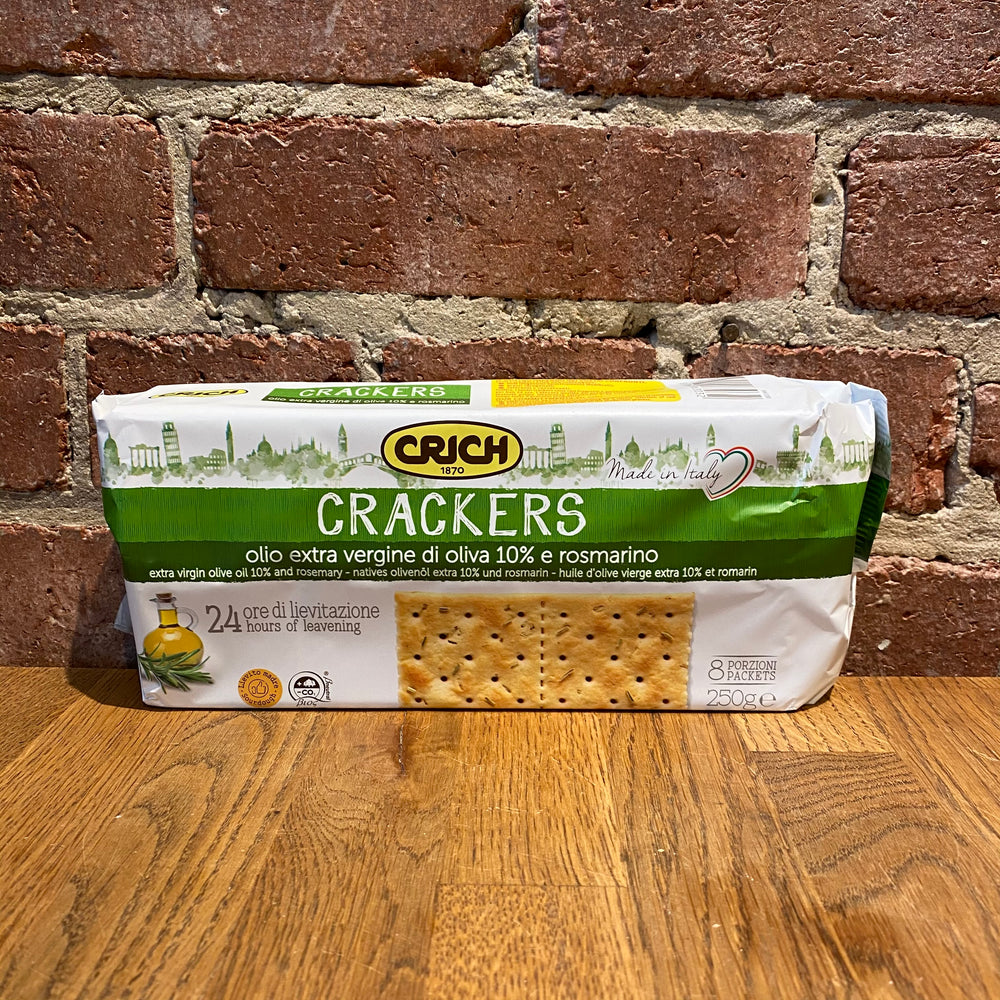 Extra Virgin Olive Oil Crackers - 250g
