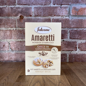 Soft Amaretti Chocolate Chip Cantucci Cookies