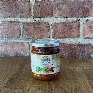 Red Pesto With Sun Dried Tomato And Italian Basil - 180g