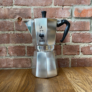 Load image into Gallery viewer, Moka Express Coffee Maker - 9 Cup