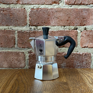 Moka Express Coffee Maker - 1 Cup